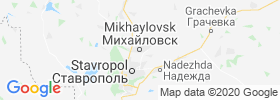 Mikhaylovsk map