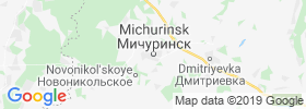 Michurinsk map