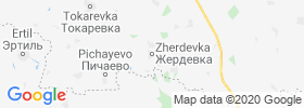 Zherdevka map