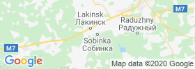 Sobinka map