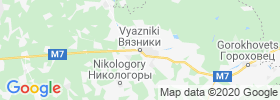 Vyazniki map