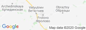 Frolovo map