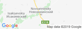 Novoanninskiy map