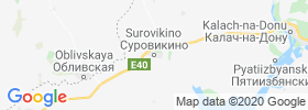 Surovikino map