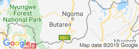 Butare map