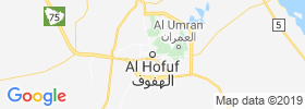 Al Hufuf map