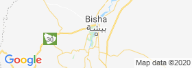Qal`at Bishah map
