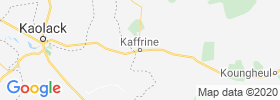 Kaffrine map