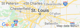 Saint Louis map