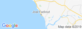 Joal Fadiout map