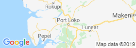 Port Loko map