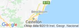 Benicassim map