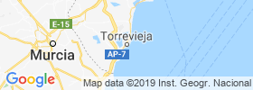 Torrevieja map