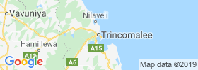 Trincomalee map