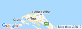 Point Pedro map