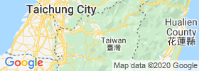Nantou map