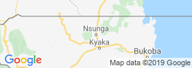 Nsunga map