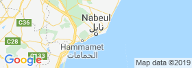 Nabeul map