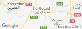 Sidi Bouzid map