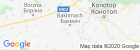Bakhmach map