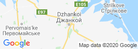 Dzhankoy map