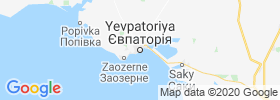 Yevpatoriya map