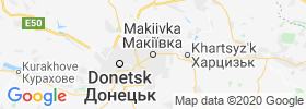 Makiyivka map