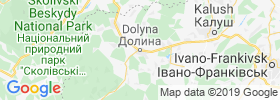 Dolyna map