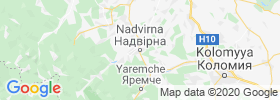 Nadvirna map