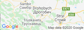 Drohobych map