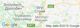Stryi map