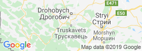 Truskavets map