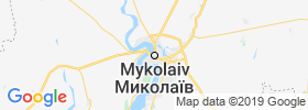 Mykolayiv map