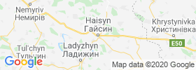 Haysyn map