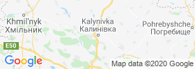 Kalynivka map