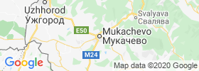Mukacheve map