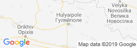 Hulyaypole map