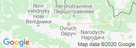 Ovruch map