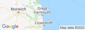 Great Yarmouth map