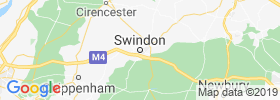 Swindon map