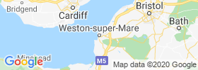 Weston Super Mare map