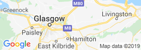 Coatbridge map