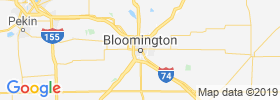 Bloomington map