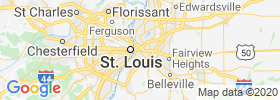 East Saint Louis map