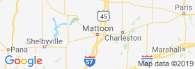 Mattoon map