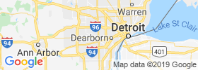 Dearborn Heights map