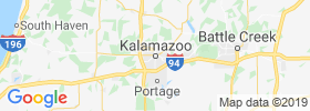 Kalamazoo map