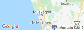 Muskegon map
