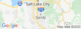 Sandy City map